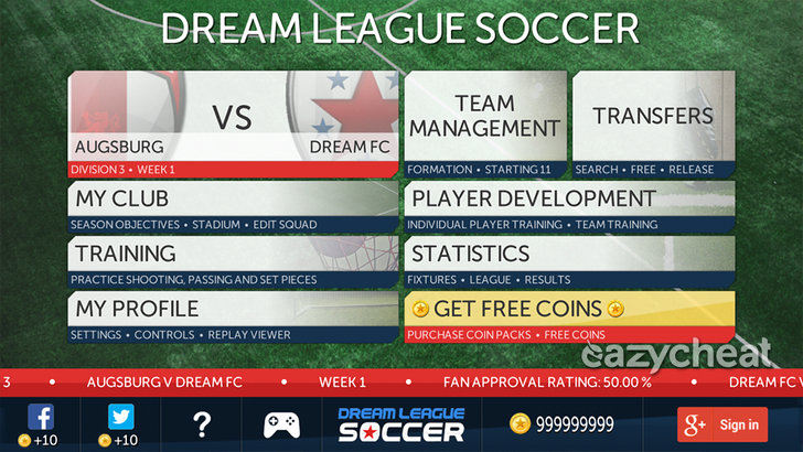 Dream League Soccer Cheats - Android Cheats - Hacked Save Game Files