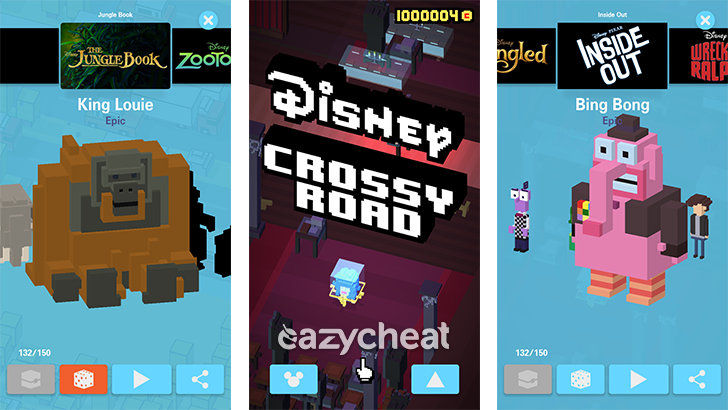 crossy road cheats coins