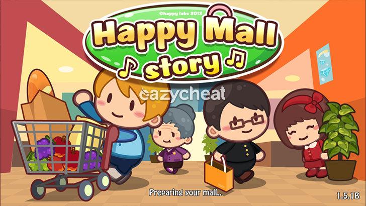 Happy Mall Story v1.5.1B Cheats