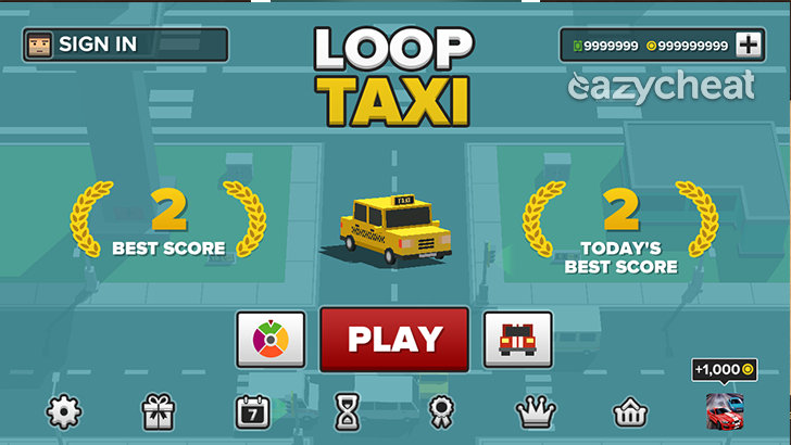 Loop Taxi Cheats