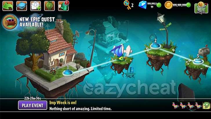 Plants Vs Zombies 2 v5.2.1 NA VERSION Cheats