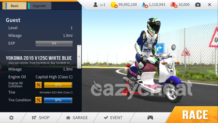 Real Moto v1.0.216 Cheats