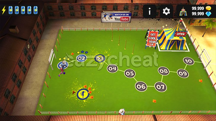 SkillTwins Football Game v1.2 Cheats