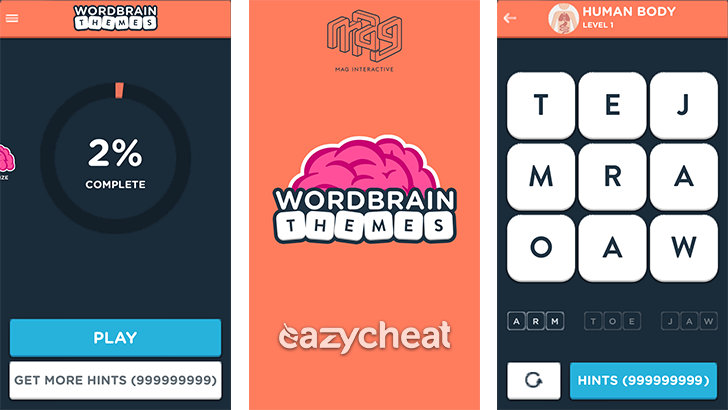 WordBrain Themes v1.1.7 Cheats