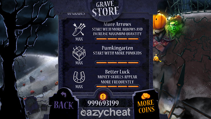 Shoot The Zombirds v1.14 Cheats