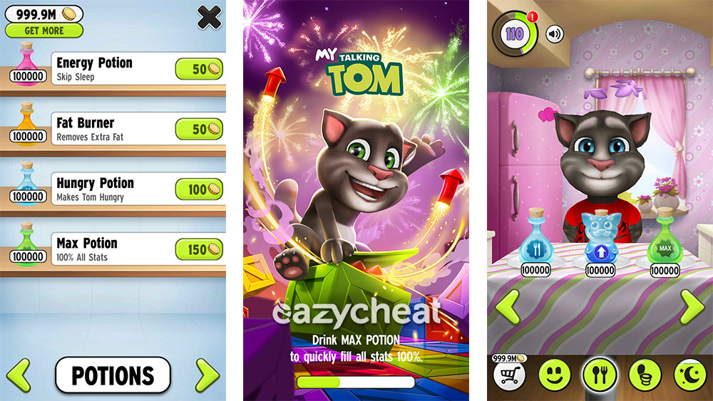 Talking tom cat 2 mod (unlimited money) 2 2 apk : Benjamin